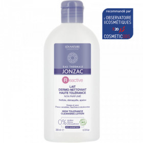 Lait Dermo nettoyant Haute Tolérance 200ml - Eau Thermale de Jonzac