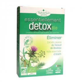 Essentiellement DETOX Bio 20 Ampoules - NatureSun Aroms