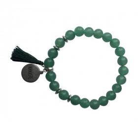 Bracelet Aventurine Verte Perles rondes 8 mm