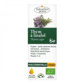 Huile Essentielle Thym à Linalol Bio 10 ml - NatureSun Aroms