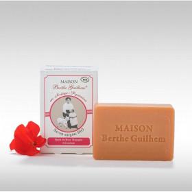 Savon au lait de chèvre géranium et Rose musquée BIO - Berthe Guilhem