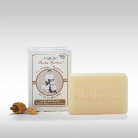 Savon au lait de chèvre neutre Amande douce BIO - Berthe Guilhem