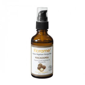 Huile de Macadamia bio 50 ml - Florame