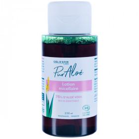 Pur Aloe - Lotion micellaire Aloé Vera 76% BIO - flacon pompe 250 ml
