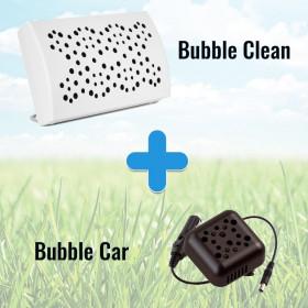 Pack Purificateur d'air - BUBBLE CLEAN et BUBBLE CAR