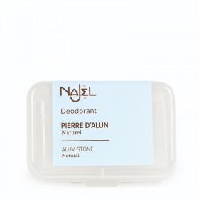 Pierre d'alun Déodorant naturel dans sa boite - NAJEL